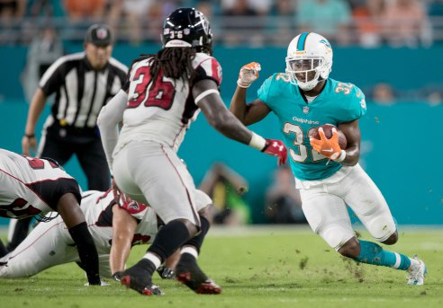Miami Dolphins vs Atlanta Falcons pre-season game