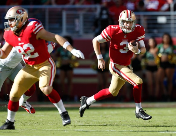 49ers versus Giants