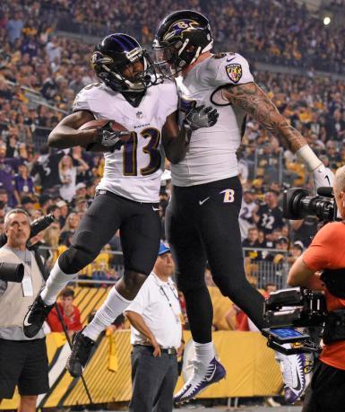 Ravens Steelers Football